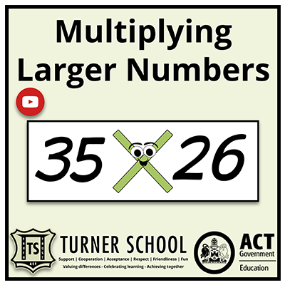 Multiplying Larger Numbers