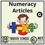 Numeracy-articles